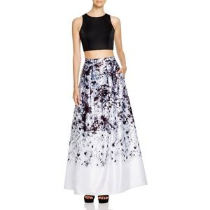 Aqua for Bloomingdale's Two-Piece Ball Gown